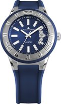 Jacques Lemans Miami 1-1785C 40mm Stainless Steel Case Silicone Mineral Men's & Women's Watch