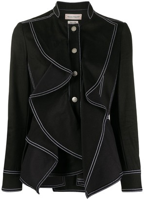 Alexander McQueen Exposed Stitch Jacket
