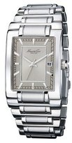 Kenneth Cole Reaction Kenneth Cole New York Rectangular Stainless Steel Men's Watch KC9322