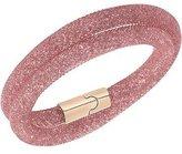 Swarovski Stardust 5089853 Vintage Pink Crystals double wrap Bracelet - M