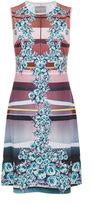 Clover Canyon Seaside Horizon Sleeveless Jersey Dress