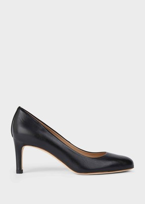 Hobbs Lizzie Leather Stiletto Court Shoes