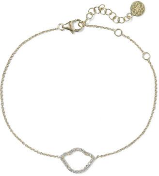 Amrapali Nalika Lotus 18-karat Gold Diamond Bracelet
