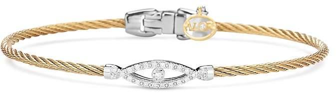 Alor Diamond Bangle