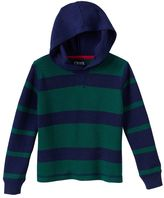 Chaps Toddler Boy Thermal Striped Hoodie