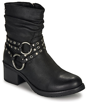 Mtng MTNG 58607-C27784 women's Low Ankle Boots in Black