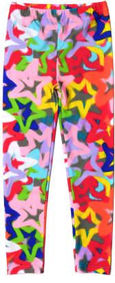 Appaman Girl's Spray Pain Stars Print Leggings, Size 2-14