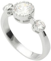 Journee Collection 1 CT. T.W. Round-cut Cubic Zirconia Bridal Basket Set Ring in Sterling Silver - Silver