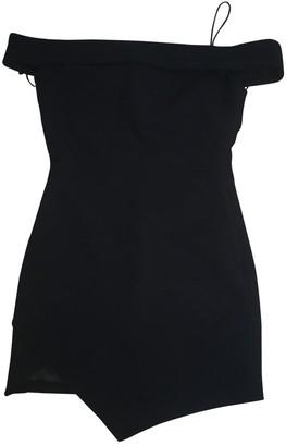 Elizabeth and James Black Cotton Dress for Women