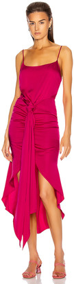Cult Gaia Natasha Dress in Hibiscus   FWRD