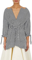 Maison Rabih Kayrouz Women's Striped Cotton Tunic Top