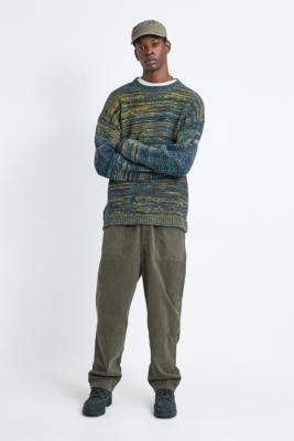 Urban Outfitters Blue Twist Knit Jumper - blue S at