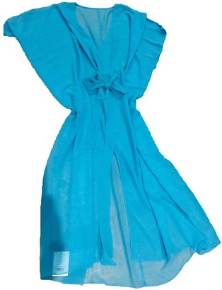 L'Agent by Agent Provocateur Turquoise Polyester Dresses