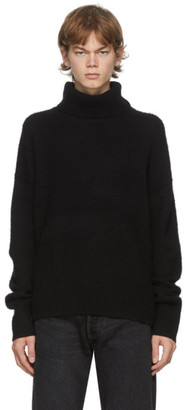 Acne Studios Black Wool and Cashmere Turtleneck
