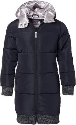 KensieGirl Long Hooded Puffer Jacket