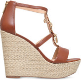 MICHAEL Michael Kors Suki leather platform sandals
