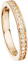 Astley Clarke 18ct rose gold vermeil and moonstone eternity ring