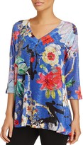 Nally & Millie Printed V-Neck Tunic - 100% Exclusive