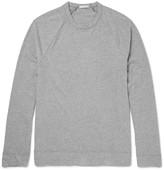 James Perse - Mélange Brushed Cotton-blend Jersey T-shirt
