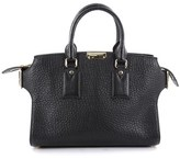 Burberry Pre-owned: Clifton Convertible Tote Heritage Grained Leather Medium.