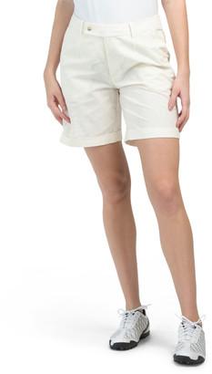 Isla Linen Golf Shorts