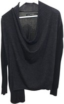 AllSaints Grey Cotton Coat for Women