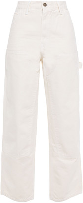 RE/DONE Cotton-canvas Wide-leg Pants