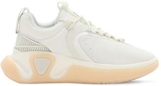 Balmain Runner Suede & Mesh Low Top Sneakers