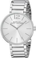 Marc Shoes By Women's Peggy MBM3400 Stainless-Steel Quartz Watch