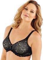 Lilyette Women's Beautiful Support Lace Minimizer