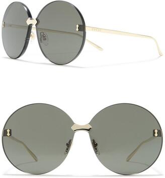 Gucci 99mm Round Sunglasses