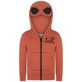 C.P. Company C.P. CompanyBoys Orange Zip Up Top