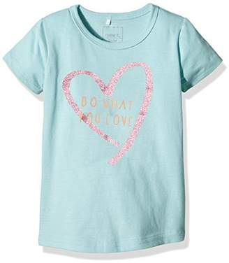 Name It Girl's NITVAIKEN M SS TOP 4 216 T-Shirt,18-24 Months