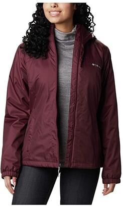 Columbia Switchbacktm Sherpa Lined Jacket (Black/Shark) Women's Coat