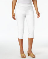 JM Collection Pull-On Capri Pants, Created for Macy's