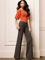 The Marisa Fit wide leg pant in seasonless stretch