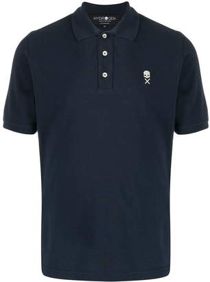 Hydrogen logo embroidered polo shirt