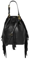 Derek Lam 10 Crosby Prince Small Fringe Bucket Bag