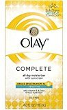 Olay Complete All Day Moisturizer SPF 15, Sensitive 4 oz (Pack of 9)