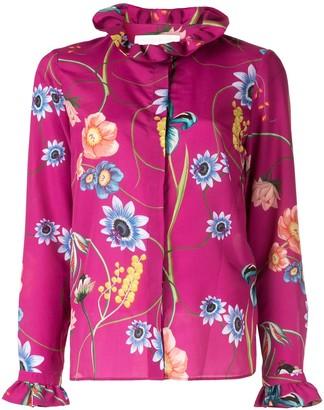 Borgo de Nor Veronica vintage flowers shirt