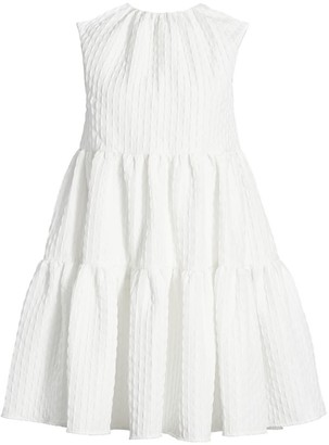 MSGM Ruffle Baby Doll Dress