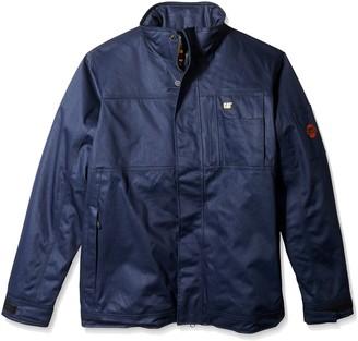 Caterpillar Men's Big-Tall Flame Resistant Insulated Jacket