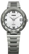 Jowissa Women's J1.167.M Soletta Automatic Sunray Dial Tungsten Bracelet Date Watch