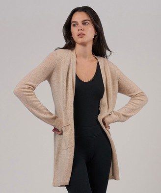 Atm Cashmere Cardigan - Desert Heather
