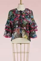 Peter Pilotto Georgette silk blouse