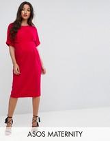 Asos Wiggle Dress With V Back