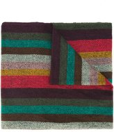 Paul Smith striped scarf - men - Lambs Wool - One Size