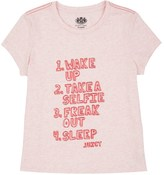 Juicy Couture Girls Knit Juicy List Graphic Tee