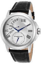 Raymond Weil 9579-STC-65001 Men's Tradition Black Genuine Leather Silver-Tone