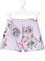 Young Versace floral-print shorts